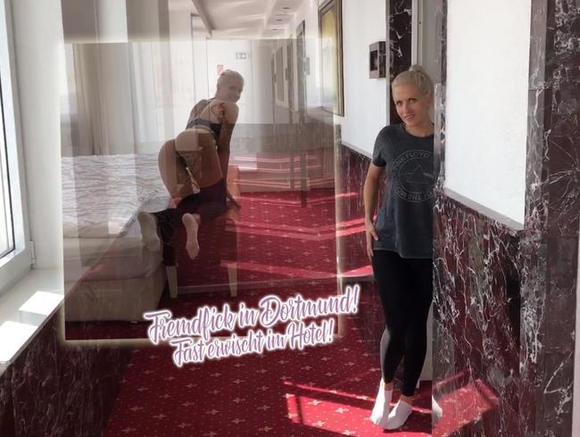 Video Thumbnail Fremdfick in Dortmund! Fast erwischt im Hotel!