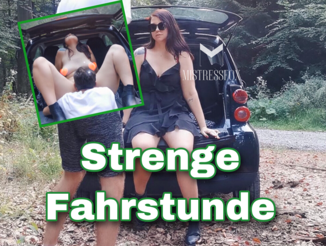 Video Thumbnail Strenge Fahrstunde