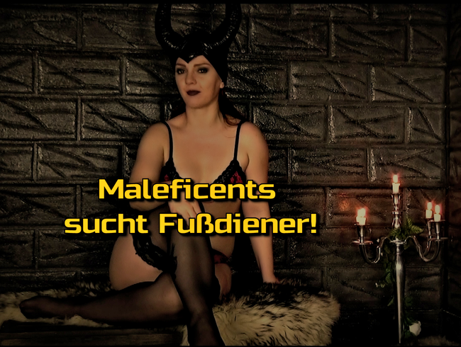 Video Thumbnail Maleficents sucht Fußdiener!