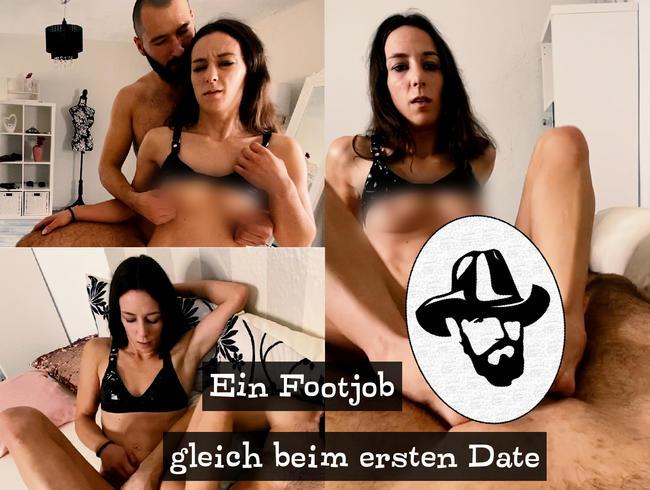 Video Thumbnail Geiler Fußfick mit Mini-Milf Svetlana beim ersten Date