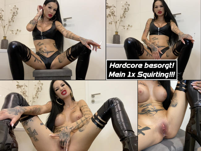 Video Thumbnail Hardcore besorgt! Mein 1x Squirting!!