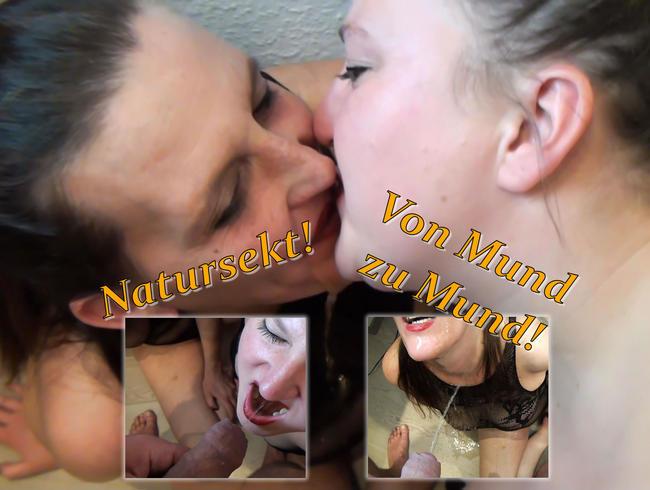 Video Thumbnail Natursekt Swap von Mund zu Mund - Ganz private Natursekt Spiele