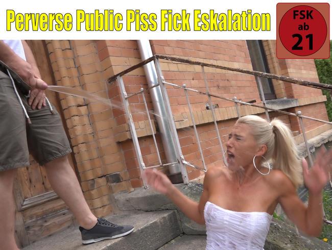 Video Thumbnail Perverse Public Piss Fick Eskalation | DAS konnten ALLE Nachbarn sehen!