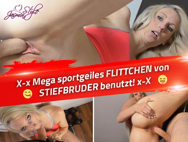 Video Thumbnail X-x Mega sportgeiles FLITTCHEN von STIEFBRUDER benutzt! x-X