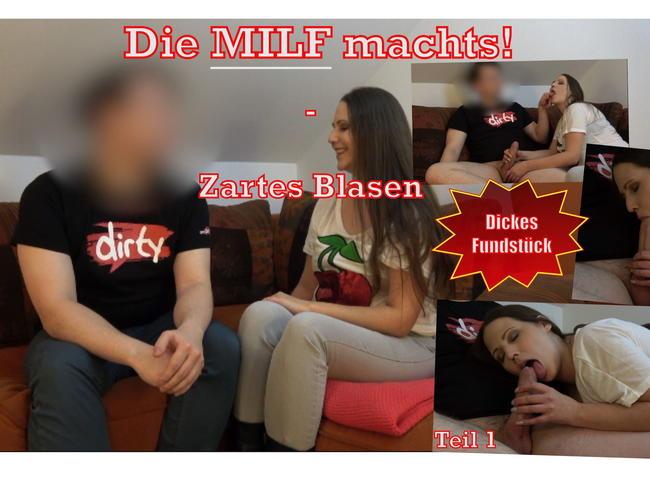 Video Thumbnail Die Milf machts! - Zartes Blasen Teil 1