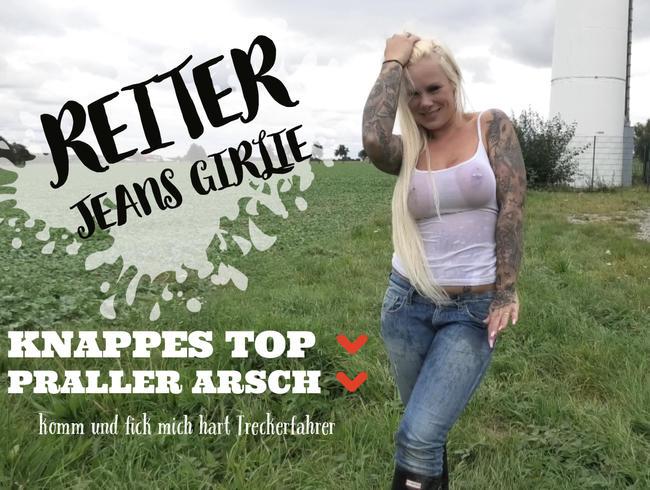 devil-sophie - REITER JEANS GIRLIE | knappes Top | praller Arsch | komm und fick mich hart Treckerfahrer