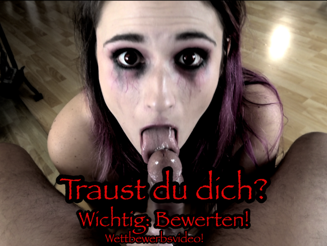 Melina-May - Mega nasser Kehlenfick für notgeilen Sperma-Vampir!