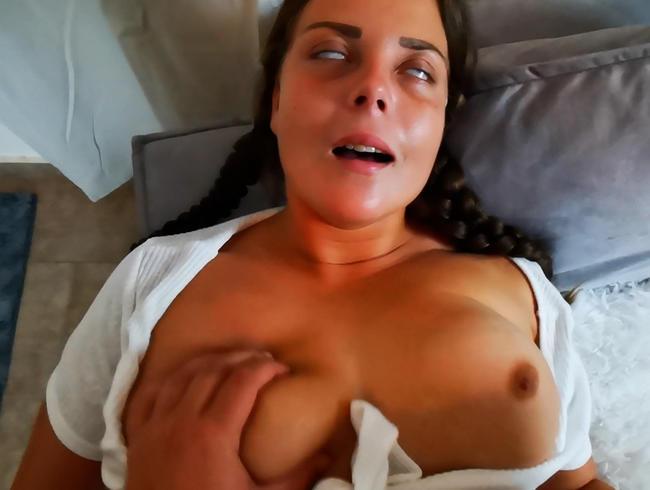 Video Thumbnail Erwischt beim Höschenschnüffeln -> Mega Orgasmus