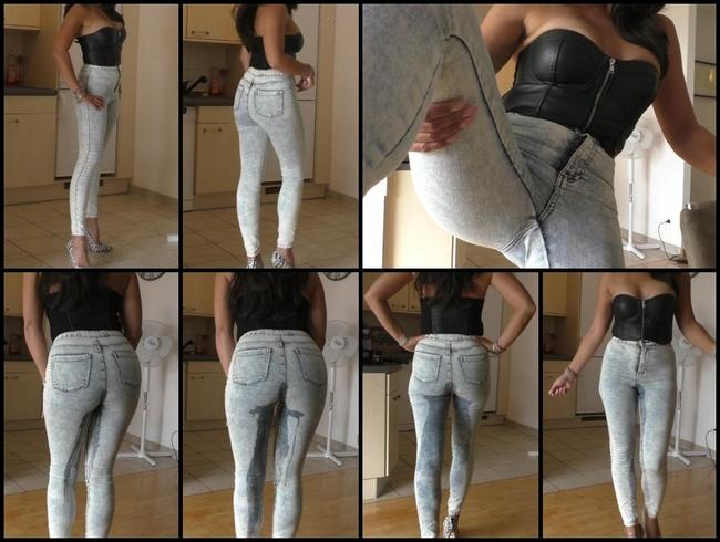 Video Thumbnail Jeans piss....