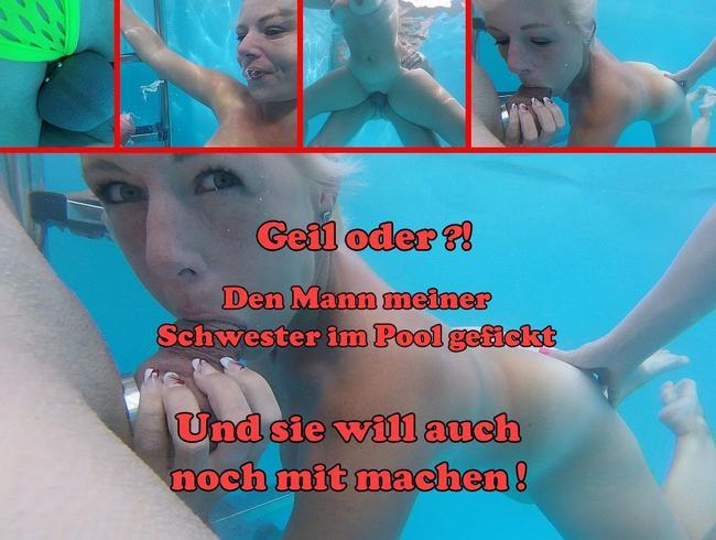 Video Thumbnail Jetzt wird der Mann meiner Stiefchwester im Pool gefickt!