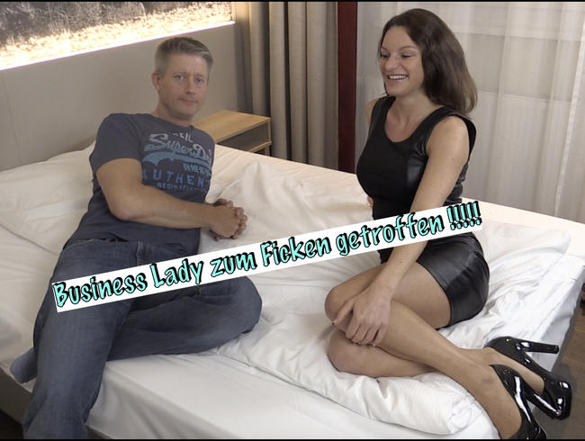 Video Thumbnail Business Lady zum FICKEN getroffen !!!