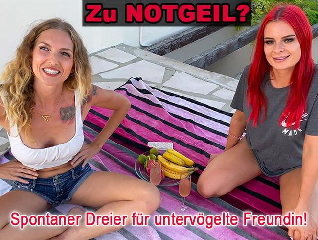 Video Thumbnail Zu notgeil? Spontaner Dreier für untervögelte Freundin!