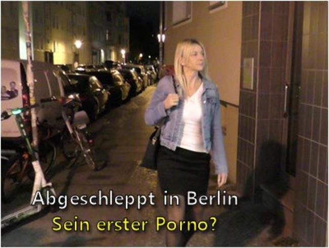 Video Thumbnail Abgeschleppt in Berlin I Sein erster Porno?
