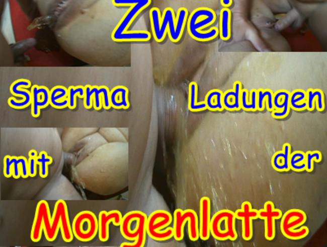 Video Thumbnail Zwei Spermaladungen mit der Morgenlatte rausgepisst