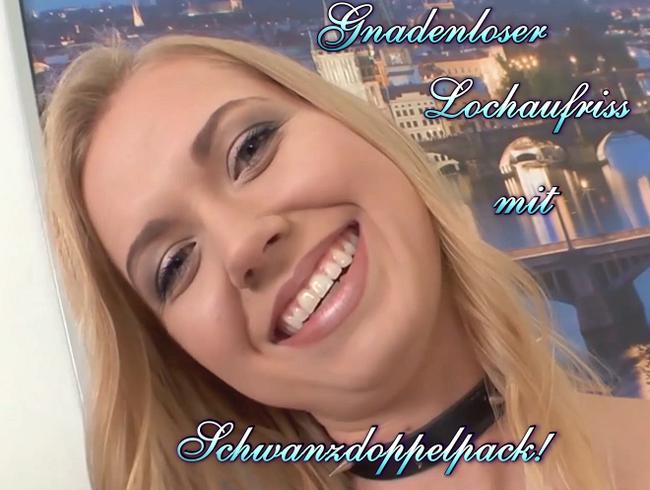 Video Thumbnail Gnadenloser Lochaufriss mit Schwanzdoppelpack!