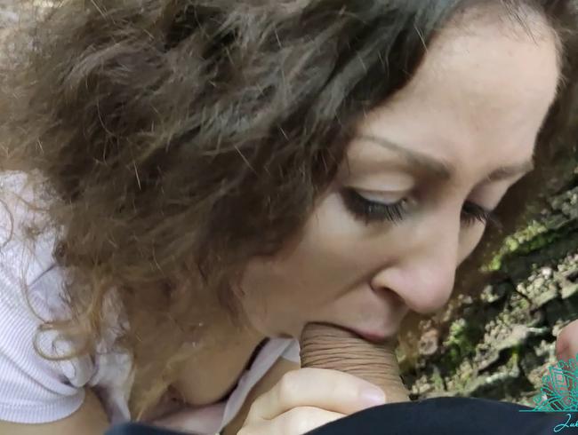 Video Thumbnail Riesen Schwanz im Wald vernascht