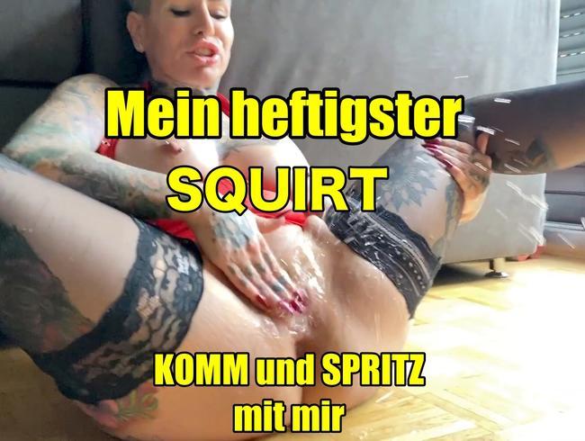 Video Thumbnail Mein hestigster Squirt!komm und spritz mit mir