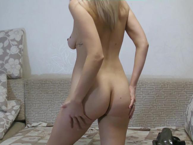 Video Thumbnail Posing im Slinkystylez Badeanzug und nackt