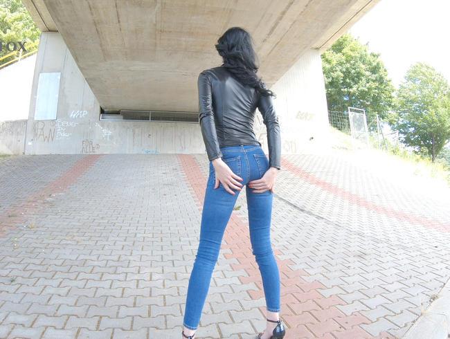 Video Thumbnail Kleines Jeans Pissfötzchen