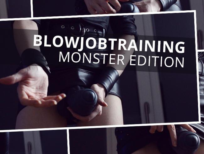 Video Thumbnail Blowjobtraining - Monster Edition