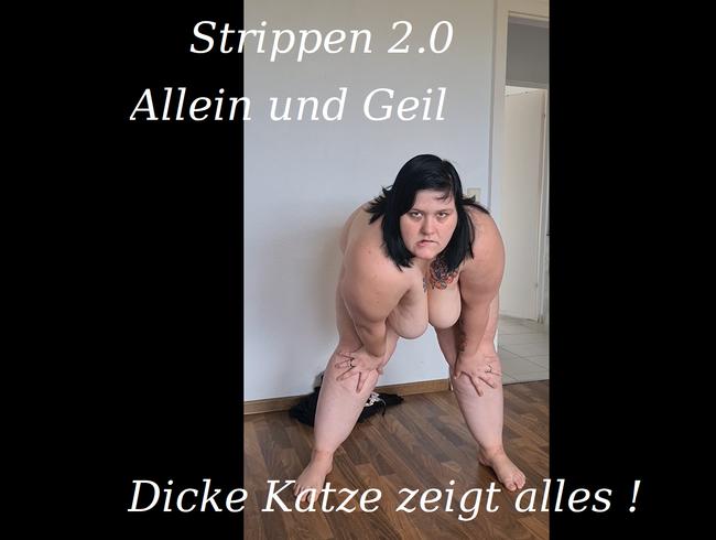 Video Thumbnail Strippen 2.0 Allein und geil
