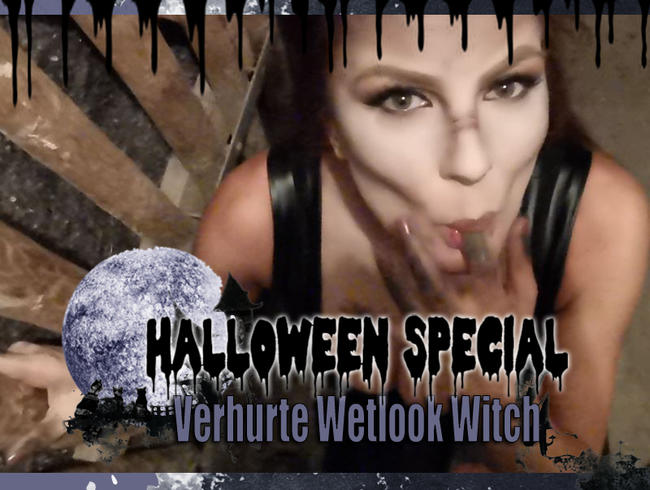 Video Thumbnail Verhurte DEEPTHROAT WETLOOK Witch I Halloween Special