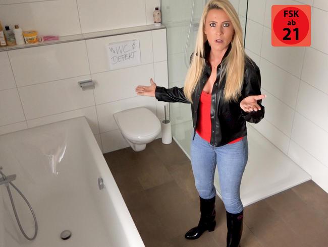 Daynia - EXTREMER Mega Jeans-Stiefel-Piss WAHNSINN | Das war ne richtig perverse SCHWEINEREI!