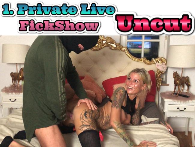 Video Thumbnail MEINE 1. PRIVATE LIVE FICKSHOW  AUF MDH