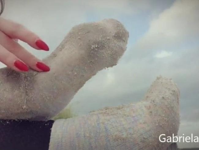Video Thumbnail Strand Socken Fick!