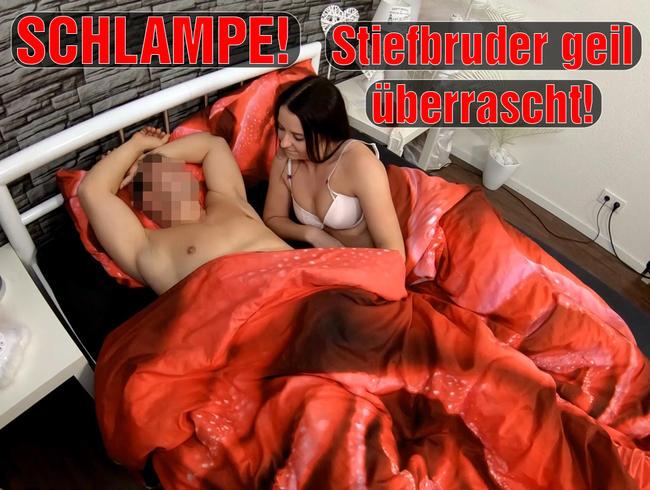 Video Thumbnail SCHLAMPE! Stiefbruder geil überrascht!