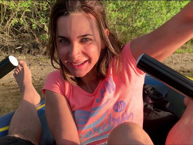 Video Thumbnail SPRITZIGE BOOTSTOUR!! Geil im Gummiboot unterwegs!
