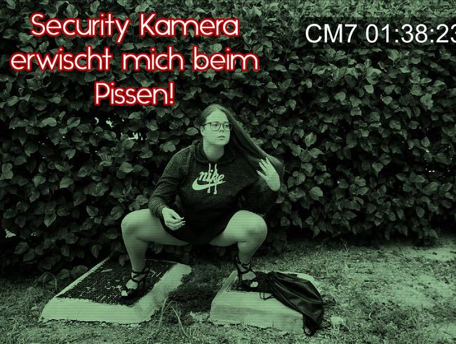 Video Thumbnail Wie Peinlich - Security Kamera erwischt mich beim Pissen!