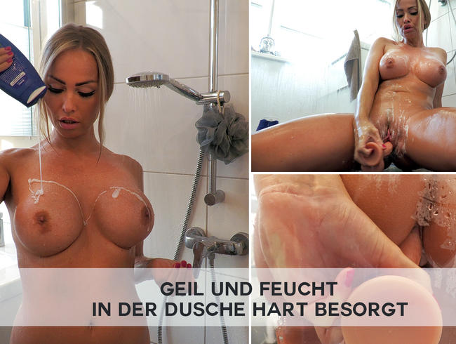 Video Thumbnail GEIL und FEUCHT - in der Dusche hart besorgt
