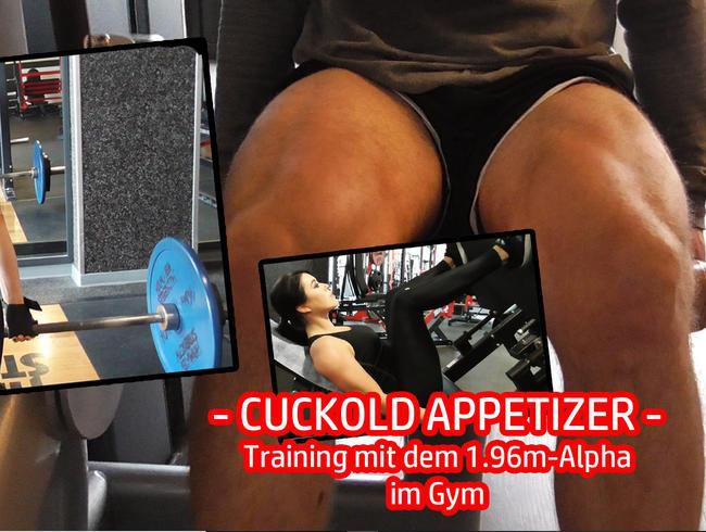 Video Thumbnail CUCKOLD APPETIZER - Training mit dem 1.96m Alpha im Gym