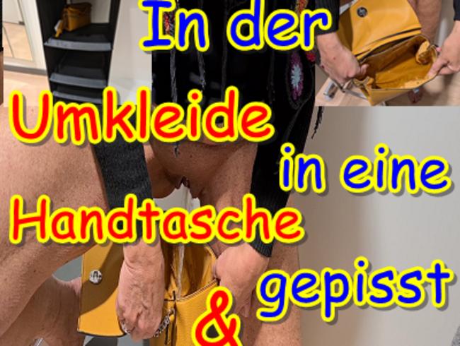 Video Thumbnail In der Umkleide in eine Handtasche gepisst & zurückgestellt