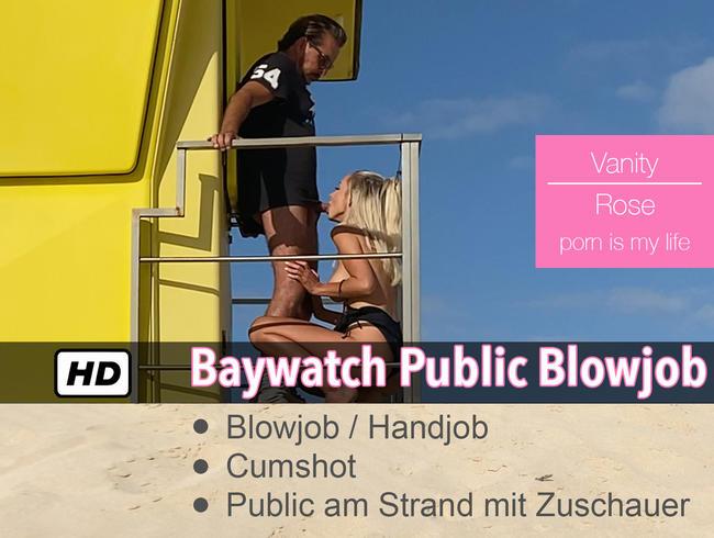 Video Thumbnail Baywatch Public Blow- Handjob