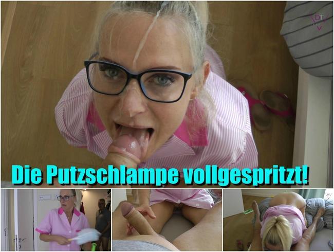 Video Thumbnail Die Putzschlampe vollgespritzt!