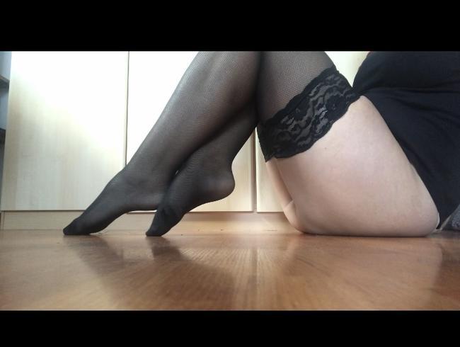 Video Thumbnail Halterlose Strümpfe anziehen
