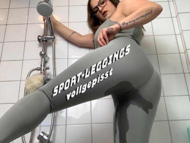 Video Thumbnail Neue Sport-Leggings vollgepisst