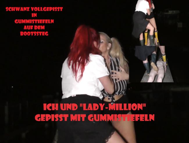Video Thumbnail Gepisst mit GUMMISTIEFELN auf SKLAVENSCHWANZ!!!!!