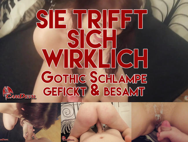 Video Thumbnail Gothik Schlampe gefickt & besamt