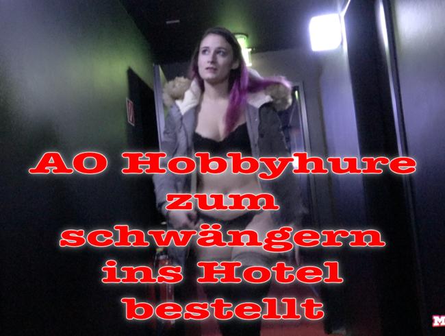 Video Thumbnail Hobbyhure zum schwängern ins Hotel bestellt.