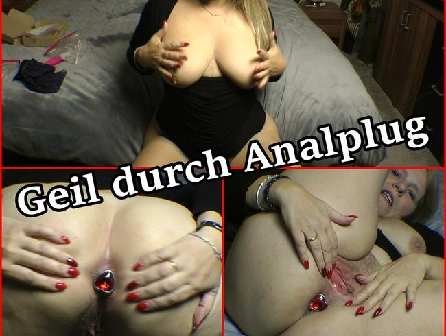 Video Thumbnail Geil durch Analplug