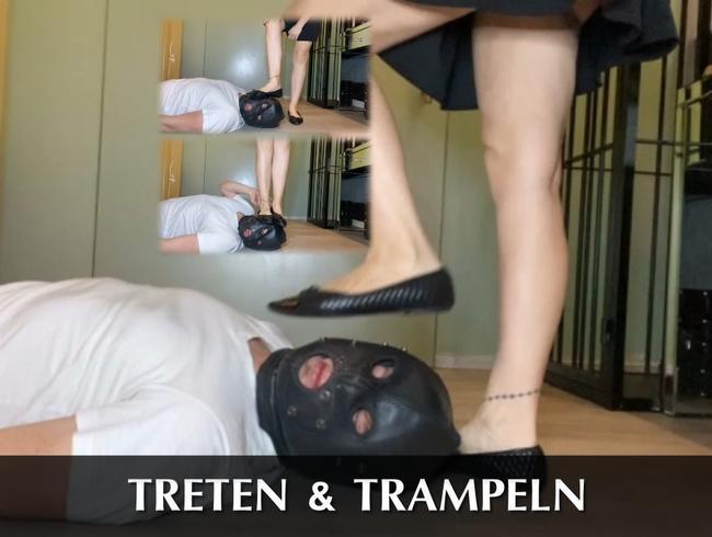 Video Thumbnail Treten und trampeln