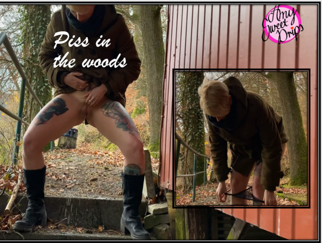 Video Thumbnail Pee in the woods