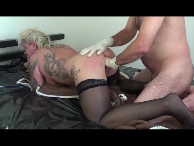 Video Thumbnail nach dem Fisten wurde mir in den Arsch gepisst