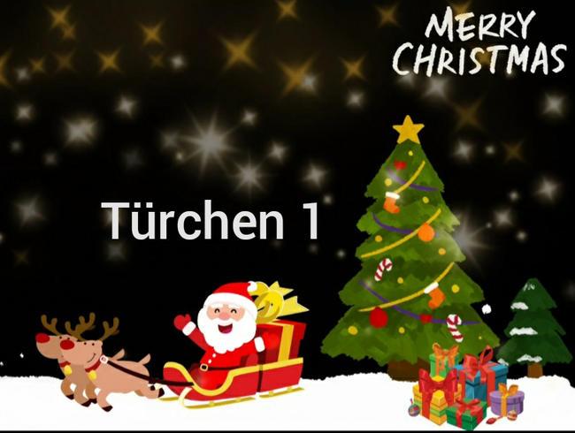 Video Thumbnail Adventskalender Türchen 1.