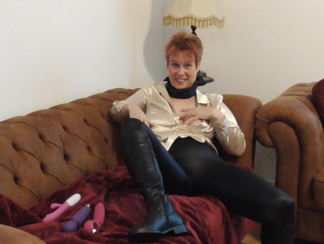 Video Thumbnail OMG!!!!!!!!Ich war so GEIL im Wetlook Style und Stiefeln!!!!!!