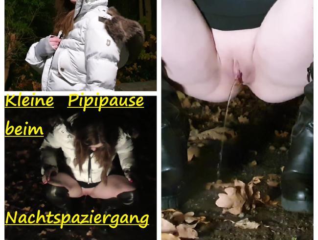 Video Thumbnail Kleine Pipipause beim Nachtspaziergang