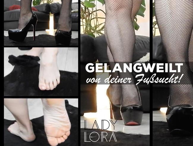 Video Thumbnail Gelangweilt von deiner Fußsucht!